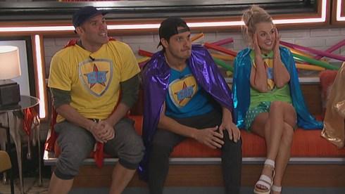 Enzo Palumbo, Cody Calafiore and Nicole Franzel, Big Brother 22
