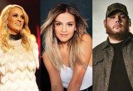 Carrie Underwood, Kelsea Ballerini and Luke Combs