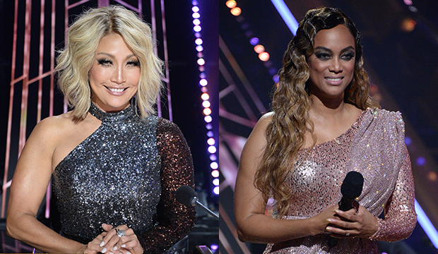 Carrie Ann Inaba; Tyra Banks, Dancing with the Stars