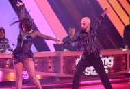 AJ McLean and Cheryl Burke on Dancing with the Stars