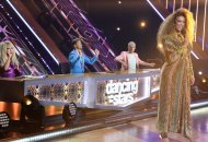 Derek Hough, Carrie Ann Inaba, Bruno Tonioli and Tyra Banks on Dancing with the Stars