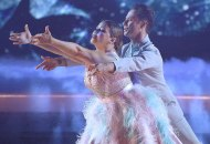 Justina Machado and Sasha Farber on Dancing with the Stars
