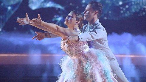 Justina Machado and Sasha Farber on Dancing with the Stars