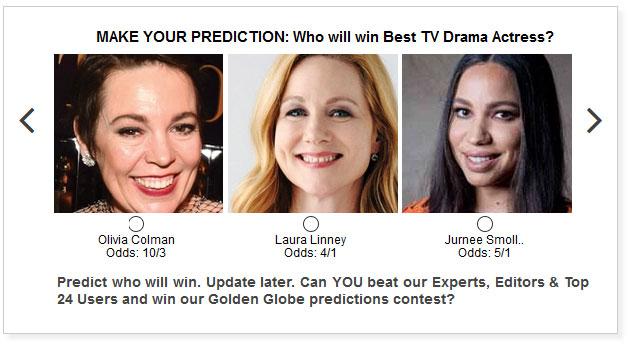 Golden Globes Best TV Drama Actress widget