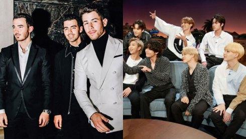 Jonas Brothers and BTS