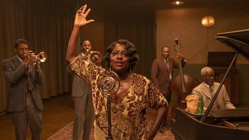 Chadwick Boseman, Colman Domingo, Viola Davis, Michael Potts and Glynn Turman, Ma Rainey's Black Bottom