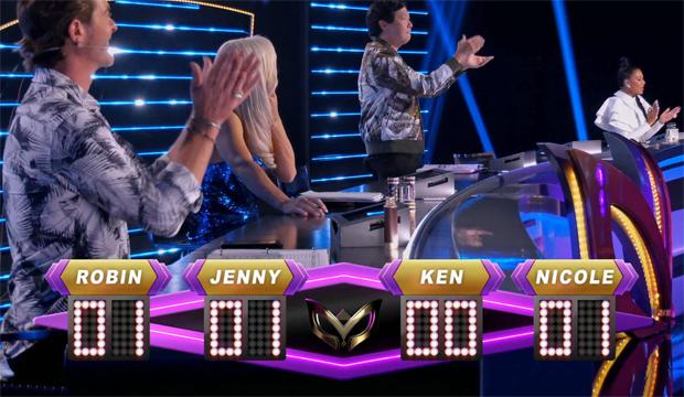 masked singer judges guesses