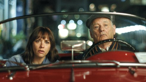 Bill Murray and Rashida Jones in On the Rocks