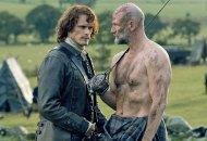 Sam Heughan and Graham McTavish in Outlander