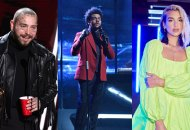 Post Malone, The Weeknd and Dua Lipa