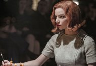 Anya Taylor Joy in The Queen's Gambit on Netflix