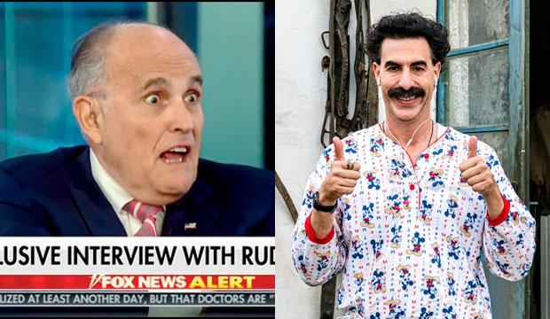 Rudy Giuliani in Borat 2