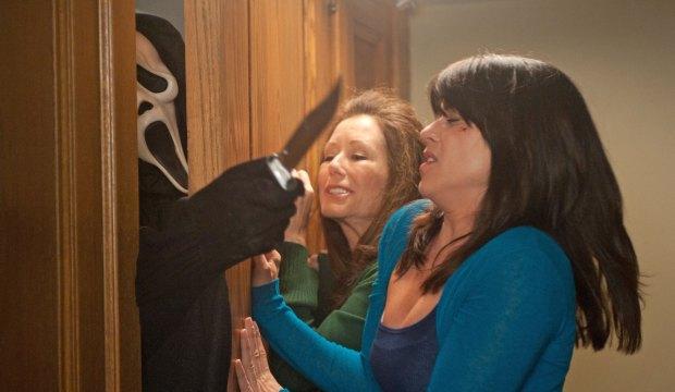 Neve Campbell in Scream 4