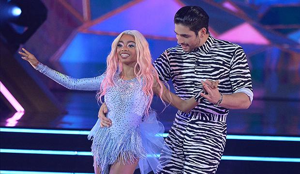 Skai Jackson and Alan Bersten, Dancing with the Stars