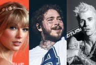 Taylor Swift, Post Malone and Justin Bieber