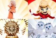 the masked singer giraffe popcorn sun snow owls