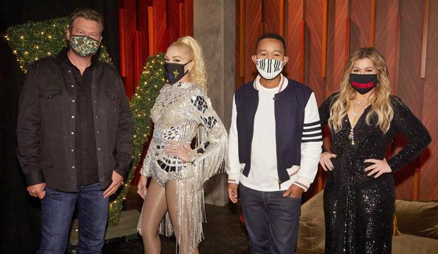 the voice coaches season 19 masks