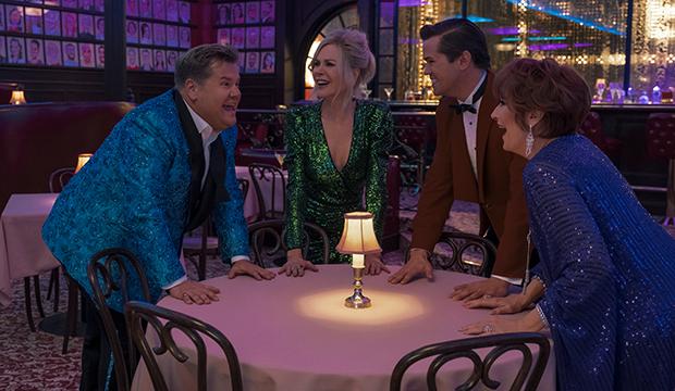 James Corden, Nicole Kidman, Andrew Rannells and Meryl Streep, The Prom