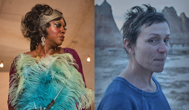 Viola Davis in Ma Rainey's Black Bottom and Frances McDormand in Nomadland