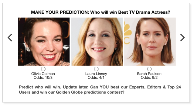 2021 Golden Globes Best TV Drama Actress predictions