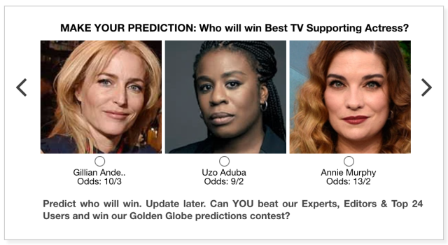 Golden Globes 2021 Best TV Supporting Actress