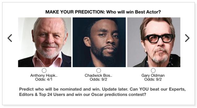Oscars 2021 Best Actor predictions