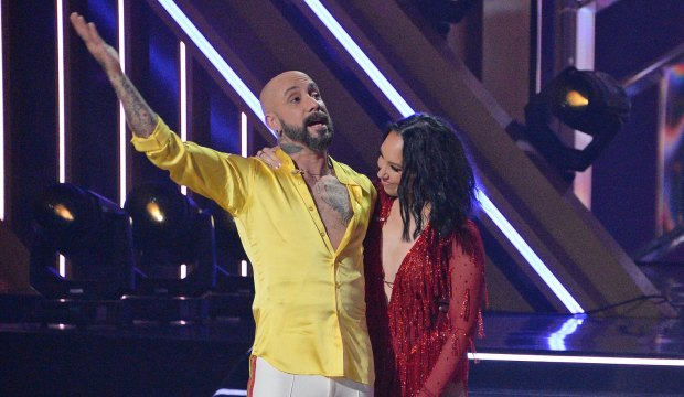AJ McLean on Dancing with the Stars