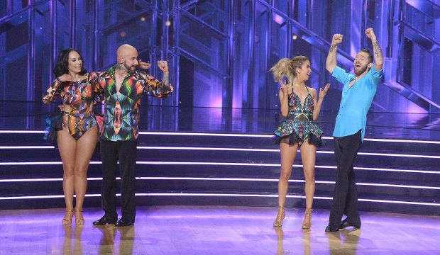 AJ McLean and Kaitlyn Bristowe on Dancing with the Stars
