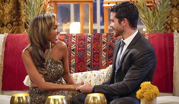 Tayshia Adams and Spencer, The Bachelorette