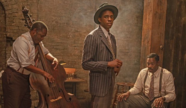 Chadwick Boseman in Ma Rainey's Black Bottom on Netflix