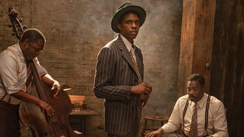 Chadwick Boseman Golden Globes win