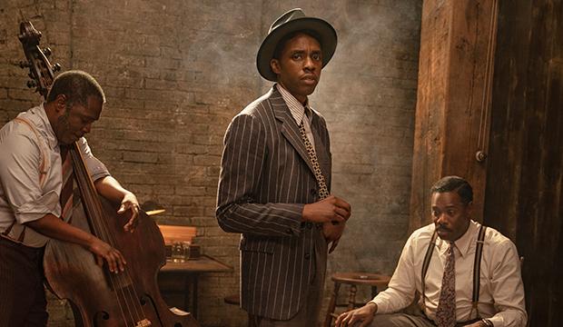 Michael Potts, Chadwick Boseman and Colman Domingo, Ma Rainey's Black Bottom