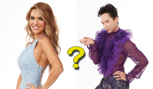 Chrishell Stause and Johnny Weir on Dancing with the Stars