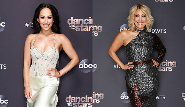 Cheryl Burke; Carrie Ann Inaba, Dancing with the Stars