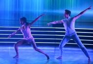 Britt Stewart and Johnny Weir, Dancing with the Stars