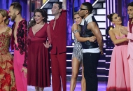 Kaitlyn Bristowe and Artem Chigvintsev; Justina Machado and Sasha Farber; Daniella Karagach and Nelly; Jenna Johnson and Nev Schulman, Dancing with the Stars