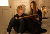 AMERICAN HORROR STORY: COVEN Protect the Coven - Episode 311 (Airs Wednesday, January 15, 10:00 PM e/p) --Pictured: (L-R): Evan Peters as Kyle, Taissa Farmiga as Zoe