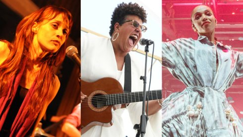 Fiona Apple, Brittany Howard and FKA Twigs