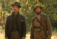 John Magaro and Orion Lee in First Cow