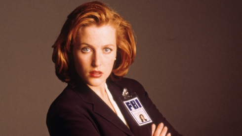 gillian anderson the x-files scully