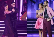 Hannah Brown and Alan Bersten; Kaitlyn Bristowe and Artem Chigvintsev, Dancing with the Stars