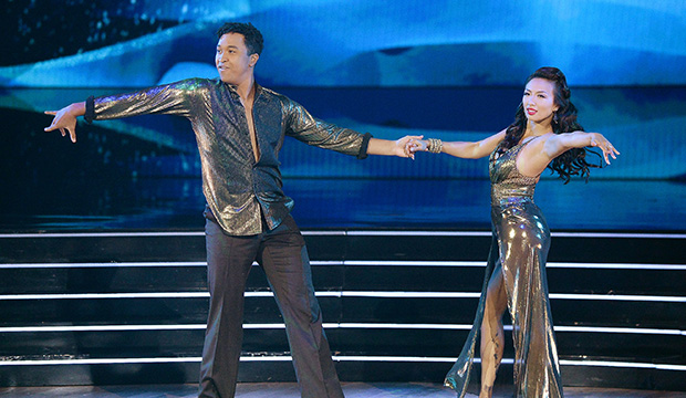 Brandon Armstrong and Jeannie Mai, Dancing with the Stars