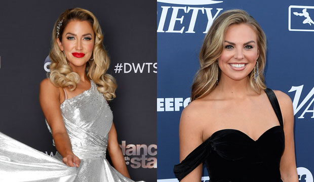 Dancing with the Stars contestants Kaitlyn Bristowe and Hannah Brown