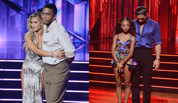 Nelly and Skai Jackson on Dancing with the Stars