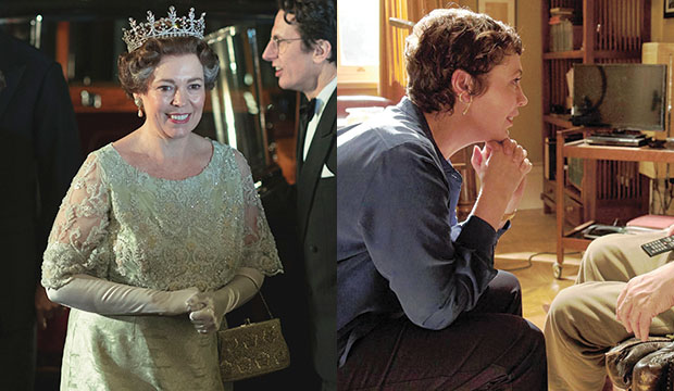 Olivia Colman, The Crown; The Father