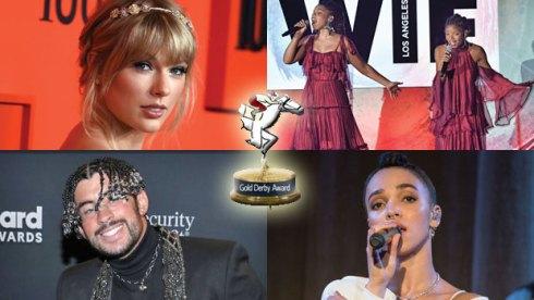 Taylor Swift, Chloe x Hallee, Bad Bunny and FKa Twigs