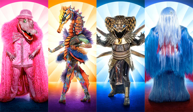 the masked singer Crocodile Seahorse Serpent Whatchamacallit