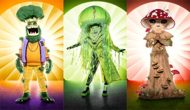 the masked singer broccoli jellyfish mushrom