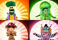 the masked singer broccoli jellyfish mushroom squiggly monster