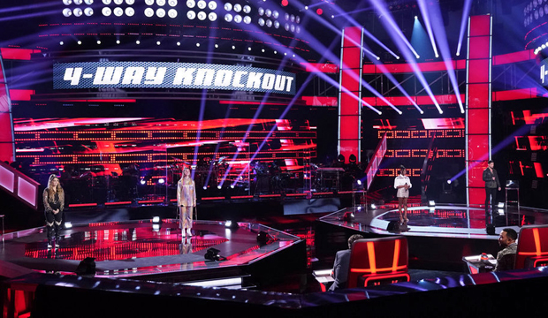 the voice four-way knockout